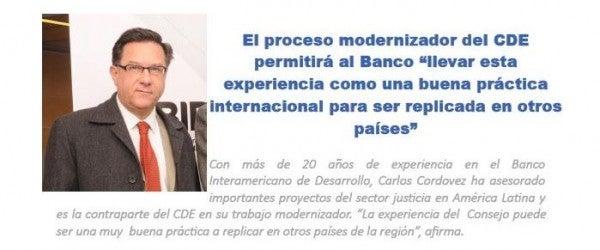 Consejo de Defensa del Estado en Chile – Entrevista a Carlos Cordovez