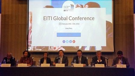 Conferencia Global de la Iniciativa para la Transparencia en las Industrias Extractivas (EITI)