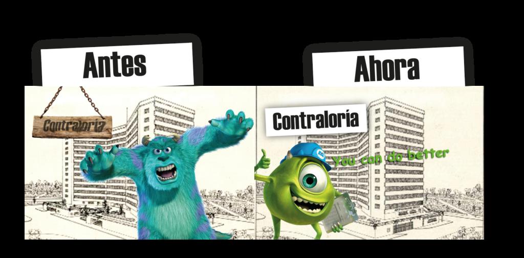 ¿Sabes qué tienen en común las Contralorías con Monsters, INC.?
