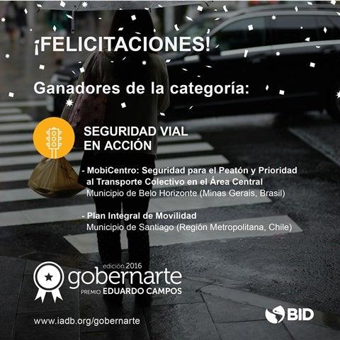 Seguridad vial en acción: iniciativas ganadoras de la 4ta. edición del Concurso Gobernarte