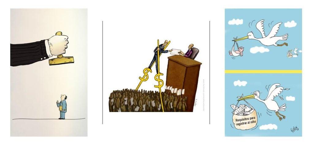 Los trámites en caricaturas: El segundo concurso del BID anuncia a sus ganadores