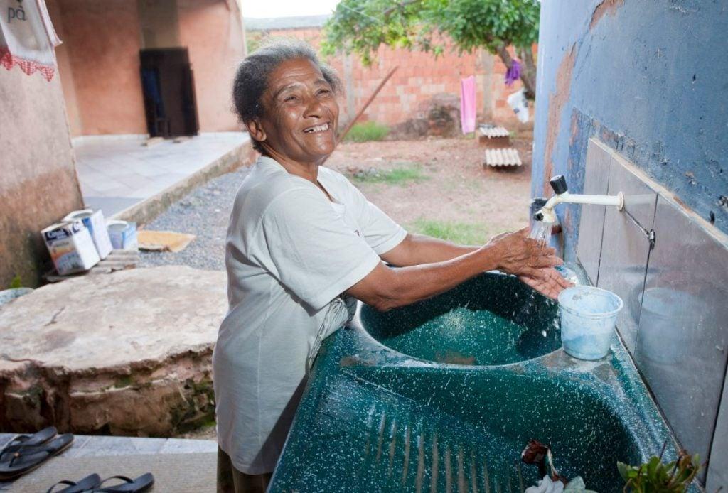Saneamiento de campo: una solución comunitaria