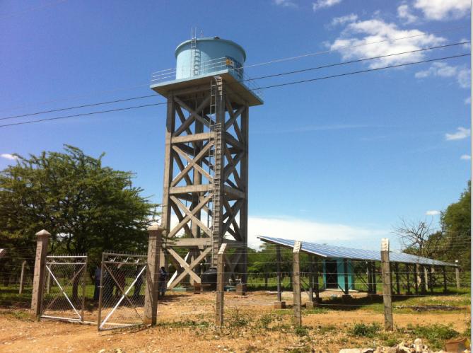 Energía solar y agua rural en Honduras
