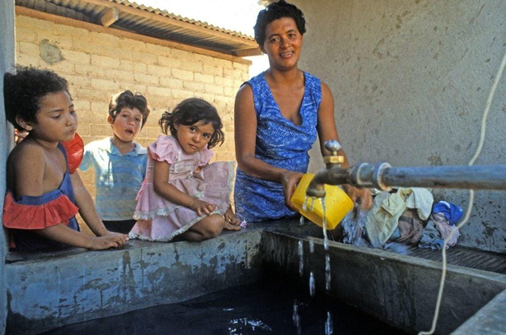 """Luchando por agua """"transparente"""" en Honduras"""