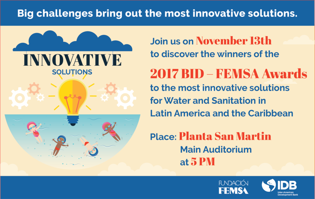 Artificial intelligence, eco-filters and more: meet the finalists of the BID-FEMSA award