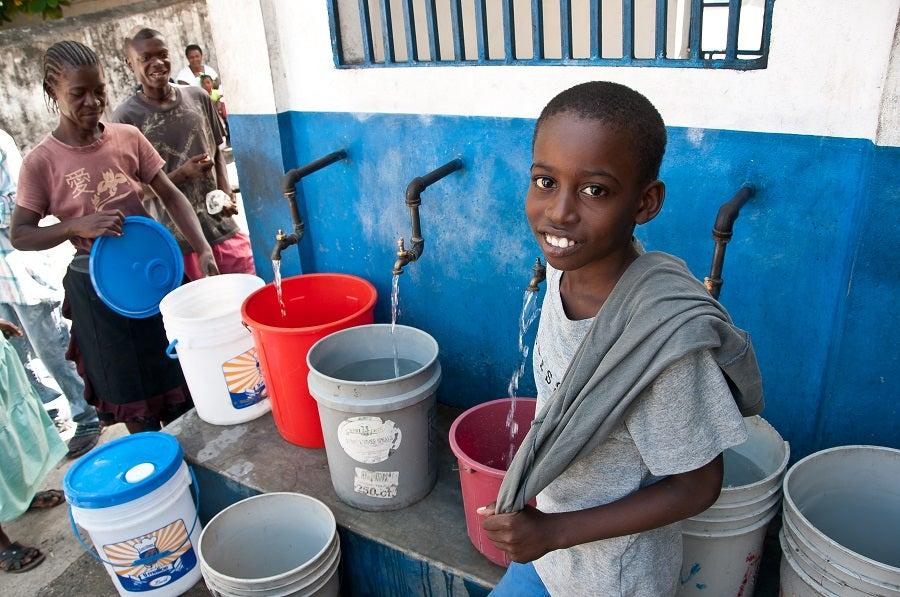 Seguridad hídrica en Haití: el largo camino hacia la libertad