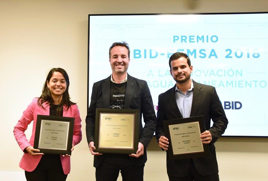 Ganadores del Premio BID-FEMSA 2018: Innovación, arte social y desarrollo comunitario