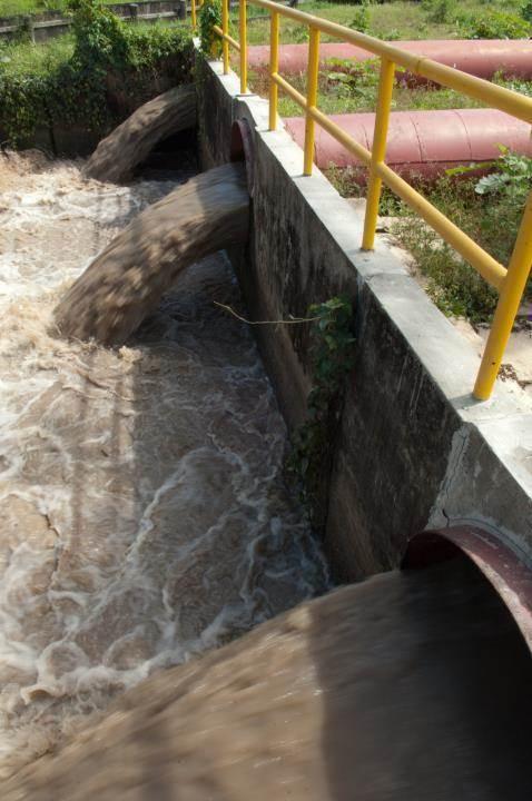 Guyana agua no tratada