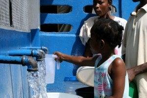 Proyecto de agua y saneamiento para Puerto Principe