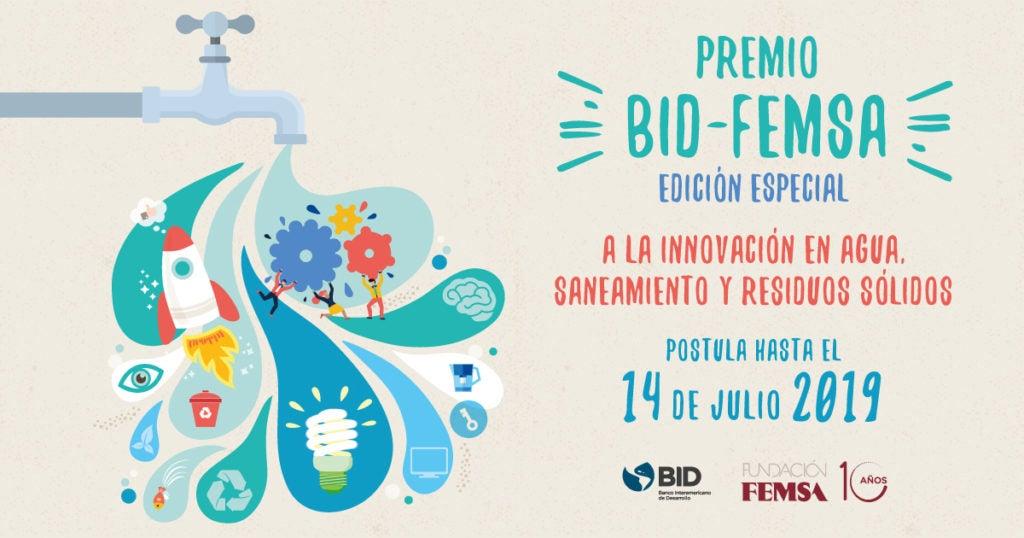 Premios a la Innovación en agua y saneamiento 2019