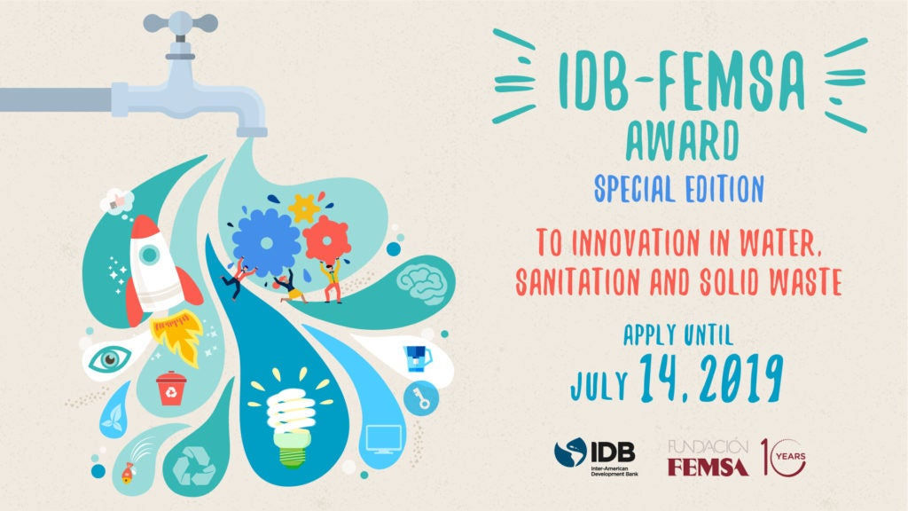 Awards for Innovation in water and sanitation 2019