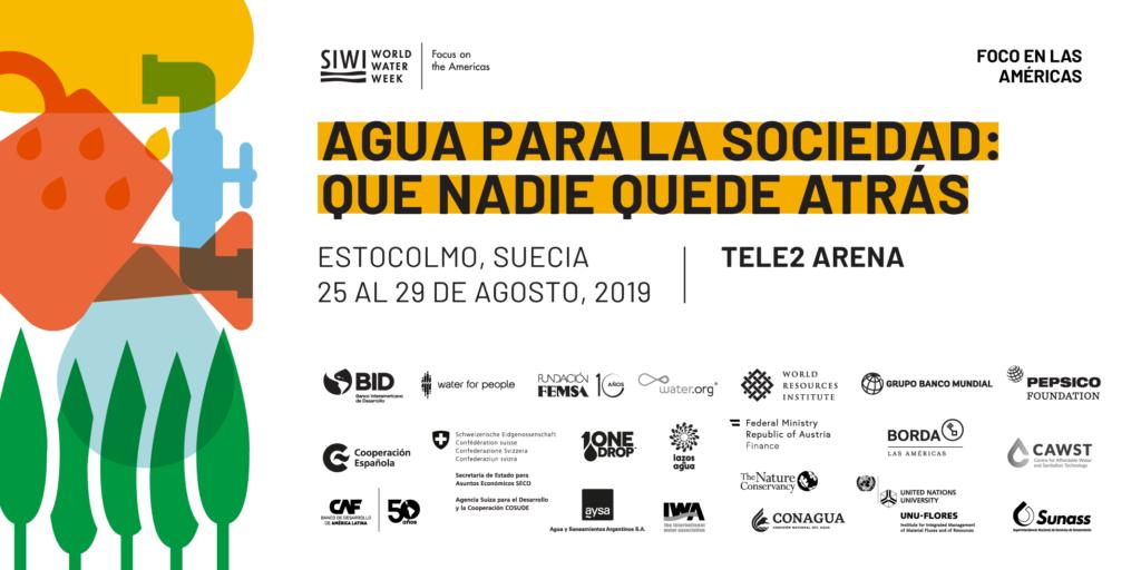 Saneamiento óptimo: Foco en las Américas durante la Semana Mundial del Agua 2019