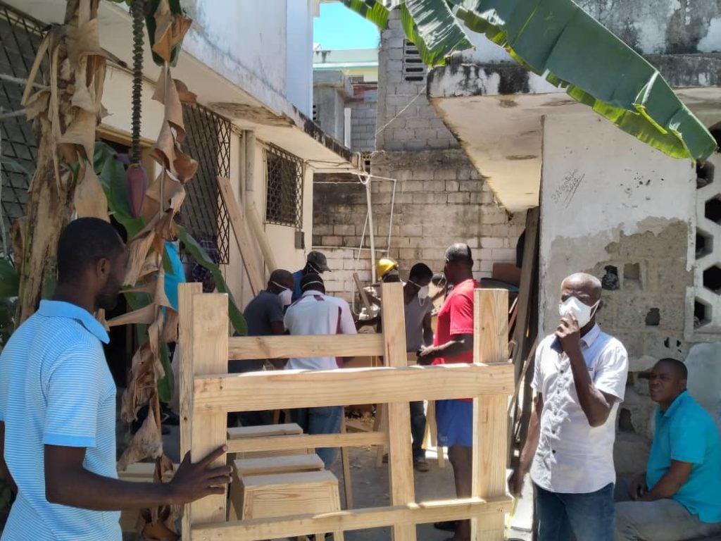 Manos a la obra contra el coronavirus en Haití