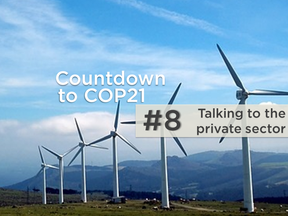 Four reasons to pay attention to the private sector at COP21