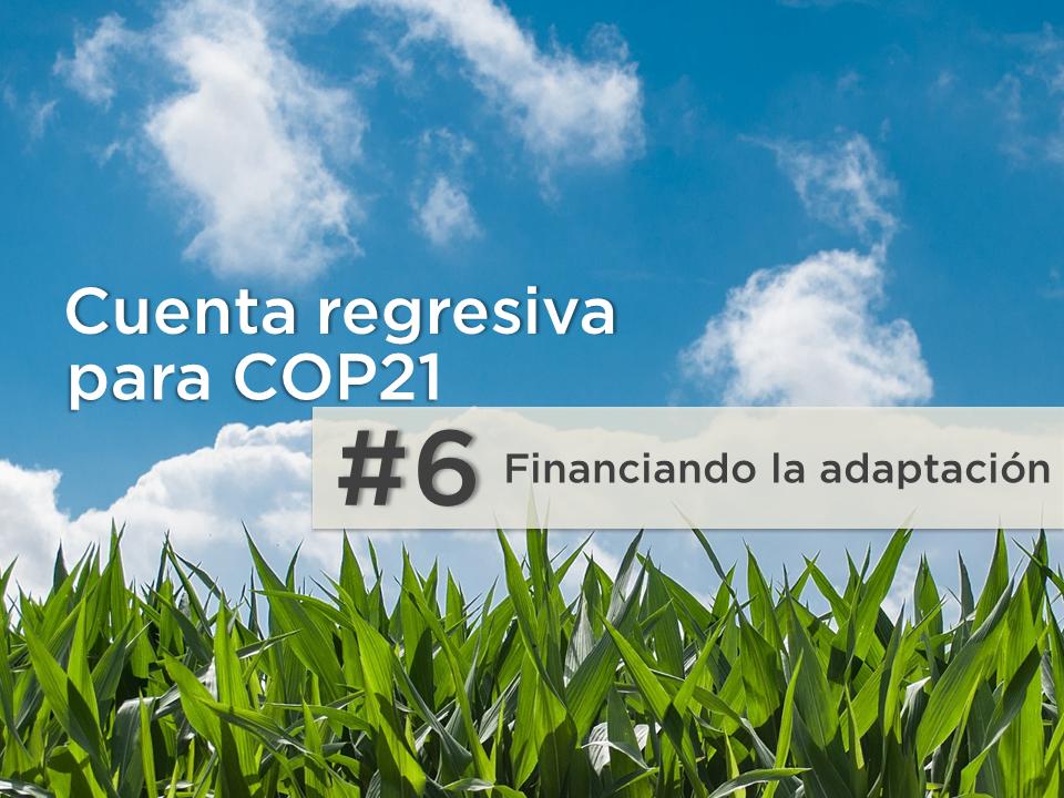La adaptación importa: El papel del sector privado en la adaptación al cambio climático