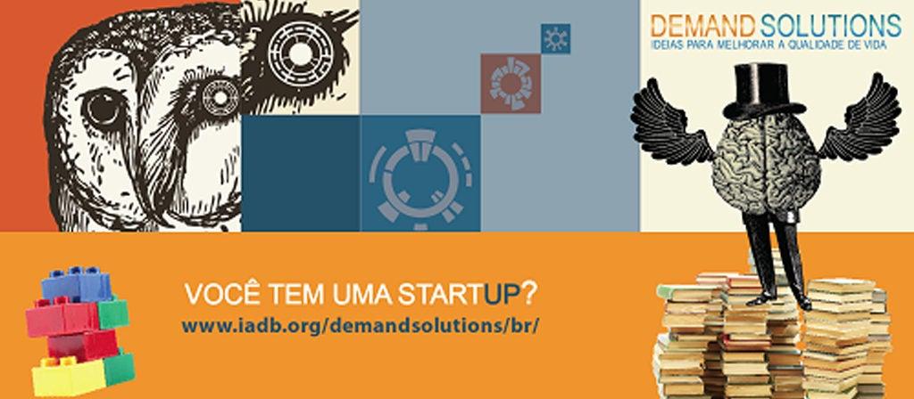 Queremos a sua startup!