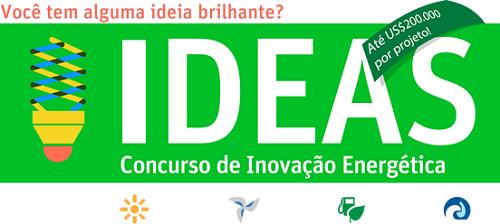 Participe do concurso IDEAS de inovação energética