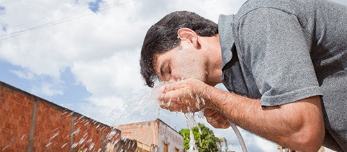 A água e o pensamento sustentável