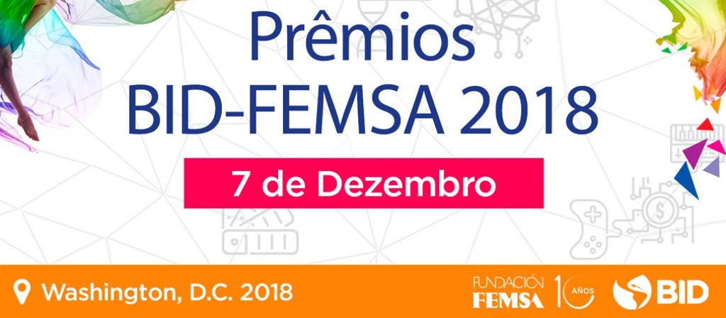 As seis soluções mais inovadoras em água estão aqui: finalistas do prêmio BID-FEMSA 2018