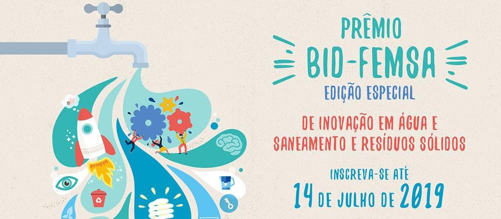 Prêmios de inovação em água e saneamento 2019