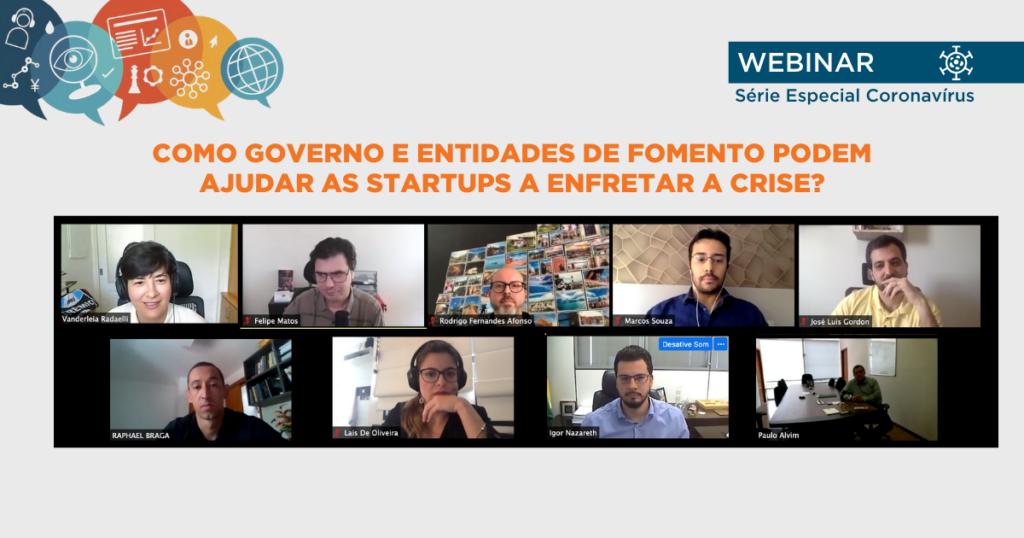 webinar sobre startups