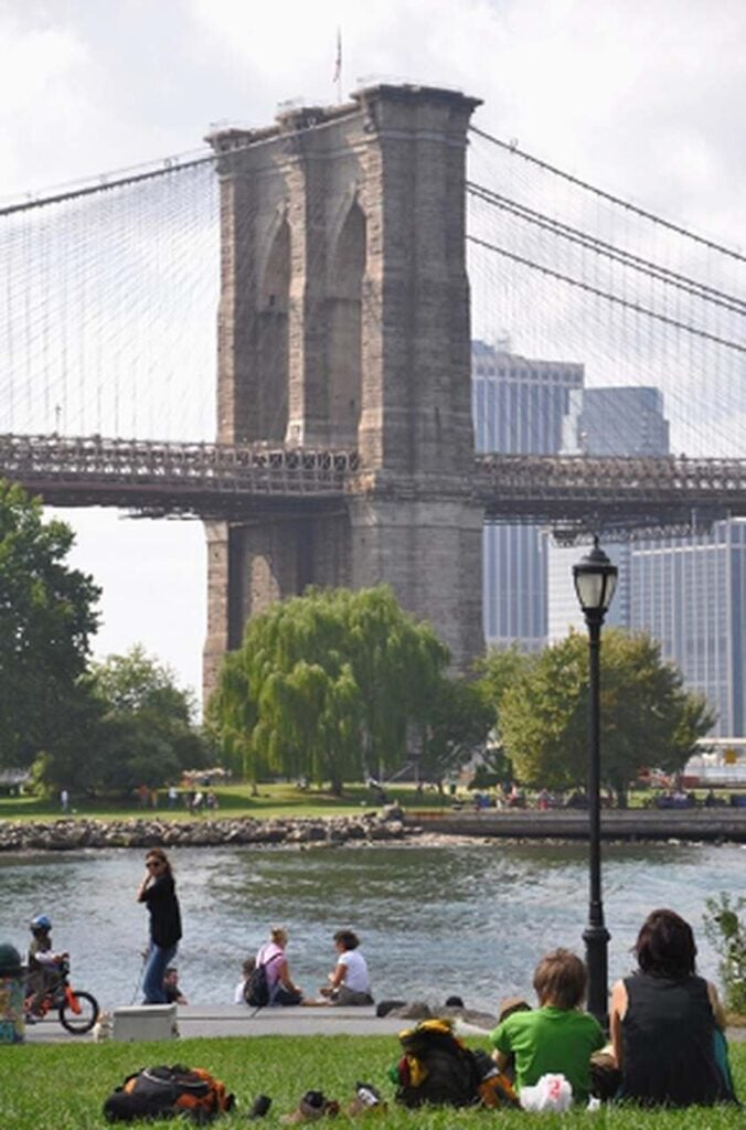 Fonte: BROOKLYN BRIDGE, NYC 2019. BID. Foto por: Alessandra Richter