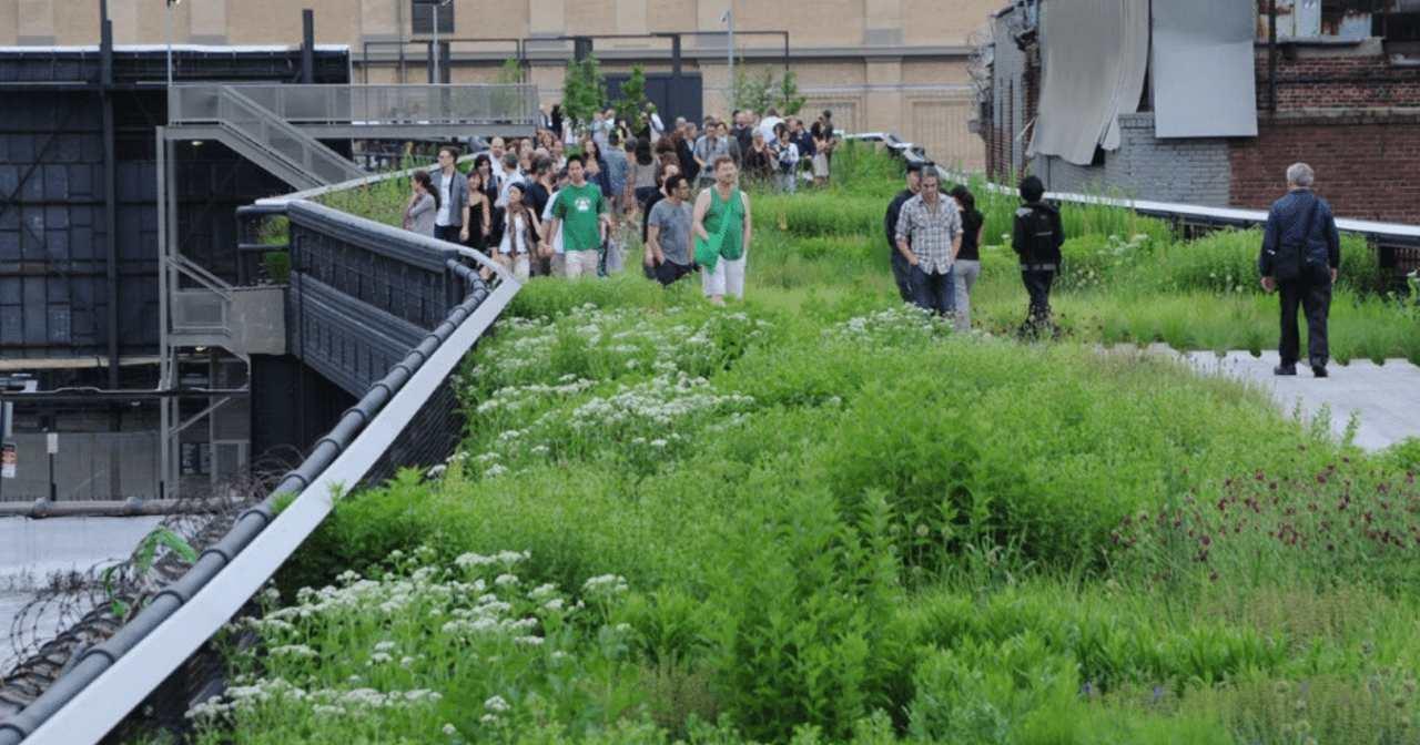 Parques urbanos de NYC