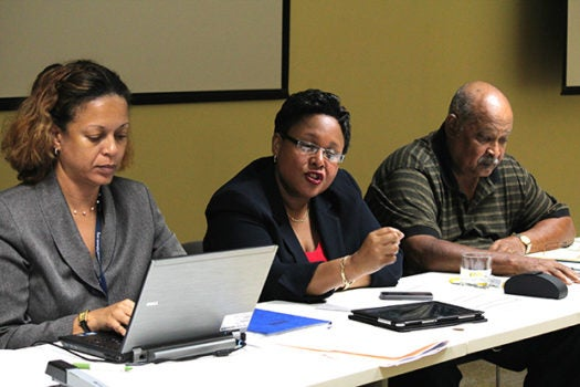Barbados' ConSOC Discuss Remedy to Boost Disbursements and a Prescription for On-time Project Execution of IDB Funded Loans