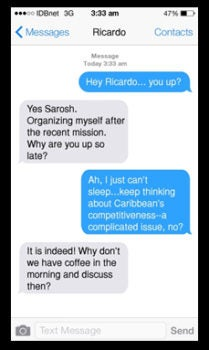 A coffee discussion on Caribbean's competitiveness…