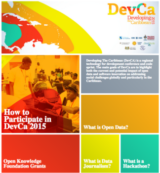 DevCa 2015: Open Data Conference and Code Sprint