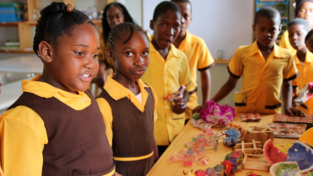 Putting biodiversity education in the fast lane in Jamaica