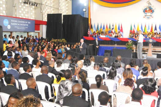 My Obama Moment: Obama's visit to Jamaica