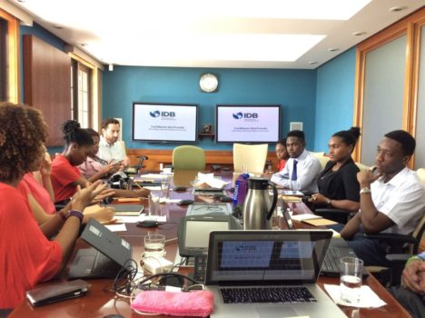 UWI Economics Students Get Tips from the IDB Barbados Country Office on Working as Economists