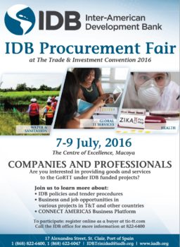 Do you want to learn more about business opportunities? Join us at the IDB Procurement Fair!