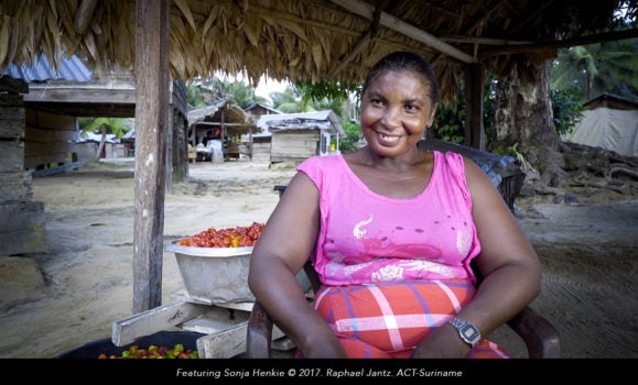 How can we empower rural women in Suriname?
