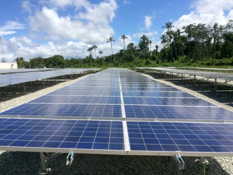 The First Solar Plant for Rural Communities in Suriname
