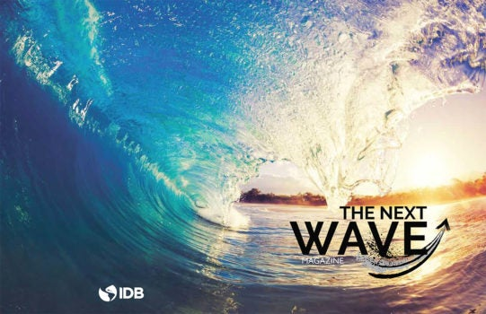 Welcome to the first issue of The Next Wave Magazine!
