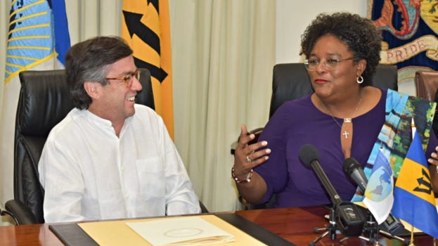 A friend in need is a friend indeed: IDB support for Barbados moves into high gear