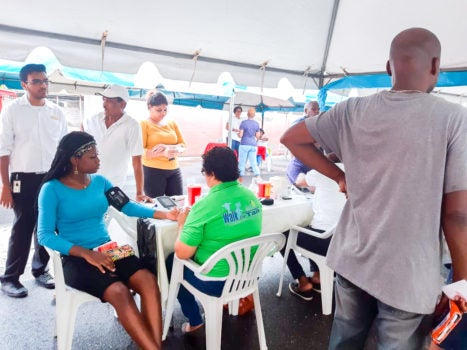 One Stop Care Team – No Laughing Matter in Trinidad and Tobago