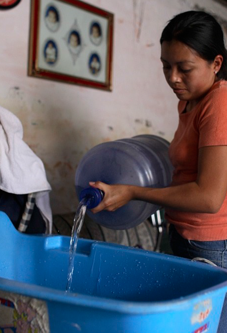 ¿Tomarías agua directamente del grifo?