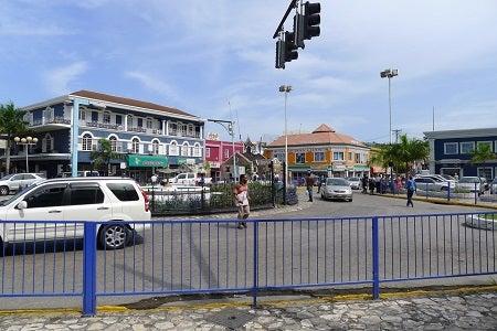 La dimensión urbana del centro de Montego Bay