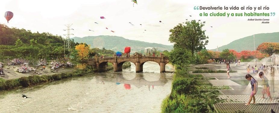 Medellín: una ciudad que quiere mirar al río