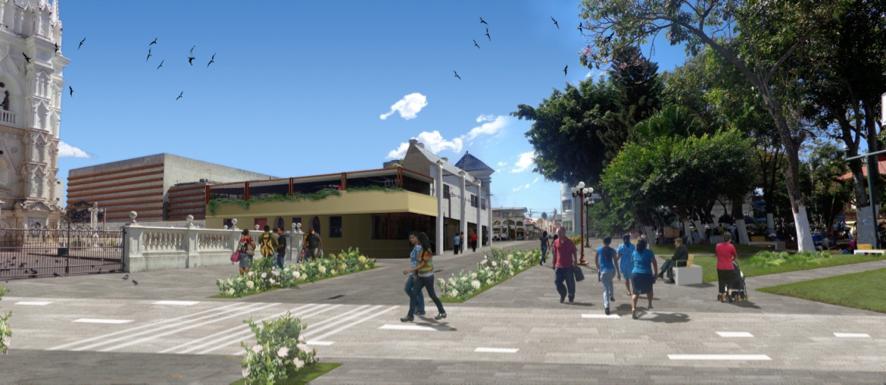 Volver al Centro: la revitalización del centro histórico de Santa Ana