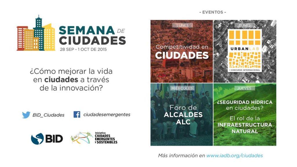 Semana de Ciudades: 4 lecciones sobre el futuro de nuestras urbes