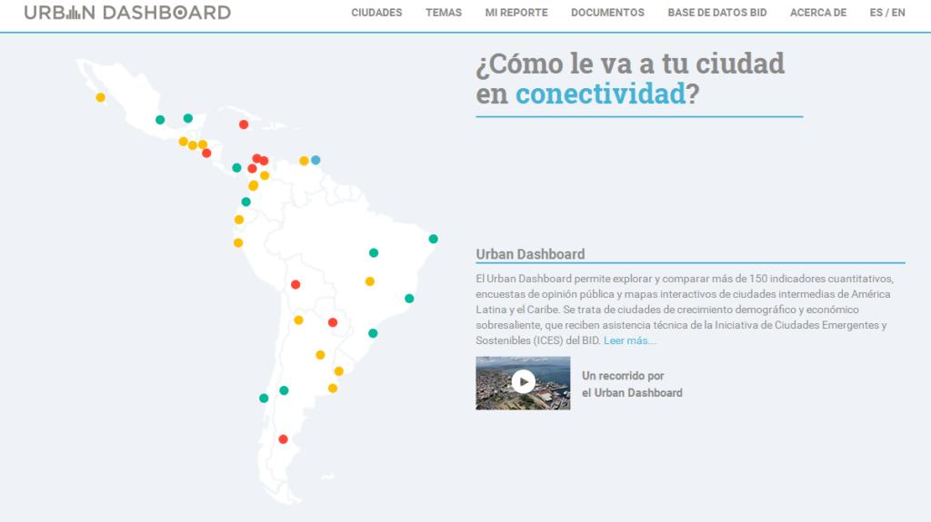 Urban Dashboard: Datos públicos que facilitan la toma de decisiones en ciudades