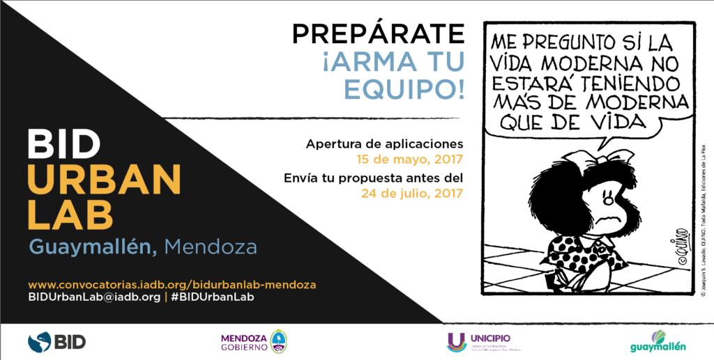 BID UrbanLab, Mendoza: jóvenes protagonistas de la transformación urbana