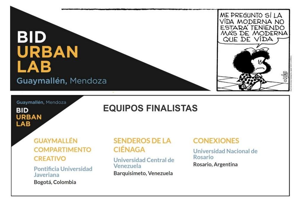 BID UrbanLab Mendoza: redefiniendo el rol de las universidades en la transformación urbana