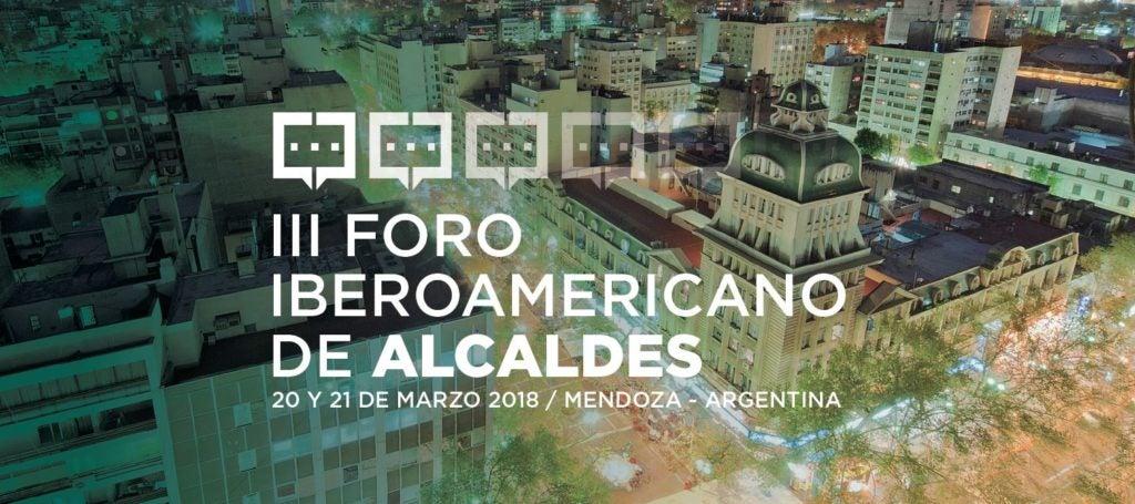 La red de ciudades sostenibles del Grupo BID y el III Foro Iberoamericano de Alcaldes