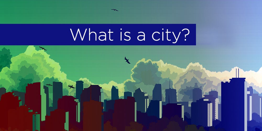 The day of what? Cities, a concept with many definitions