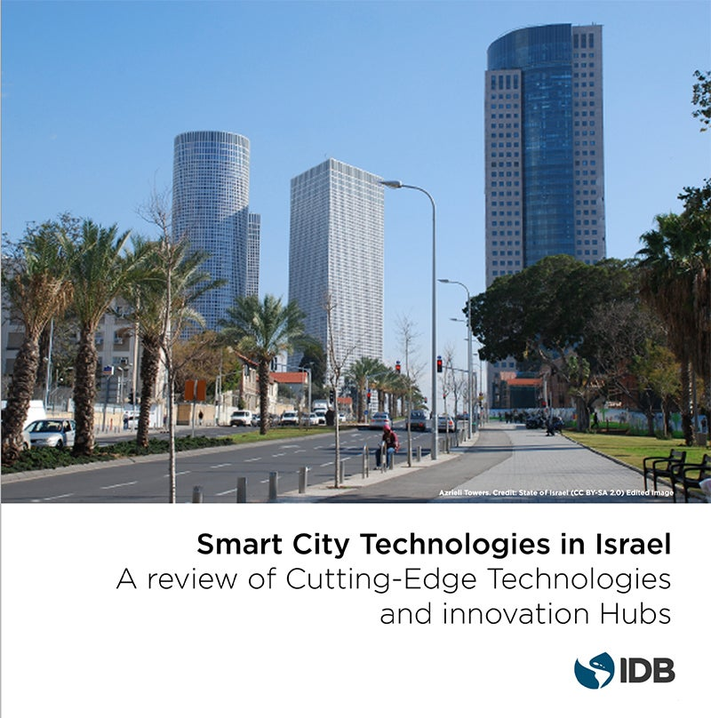 cutting edge technologies for smart cities in israel